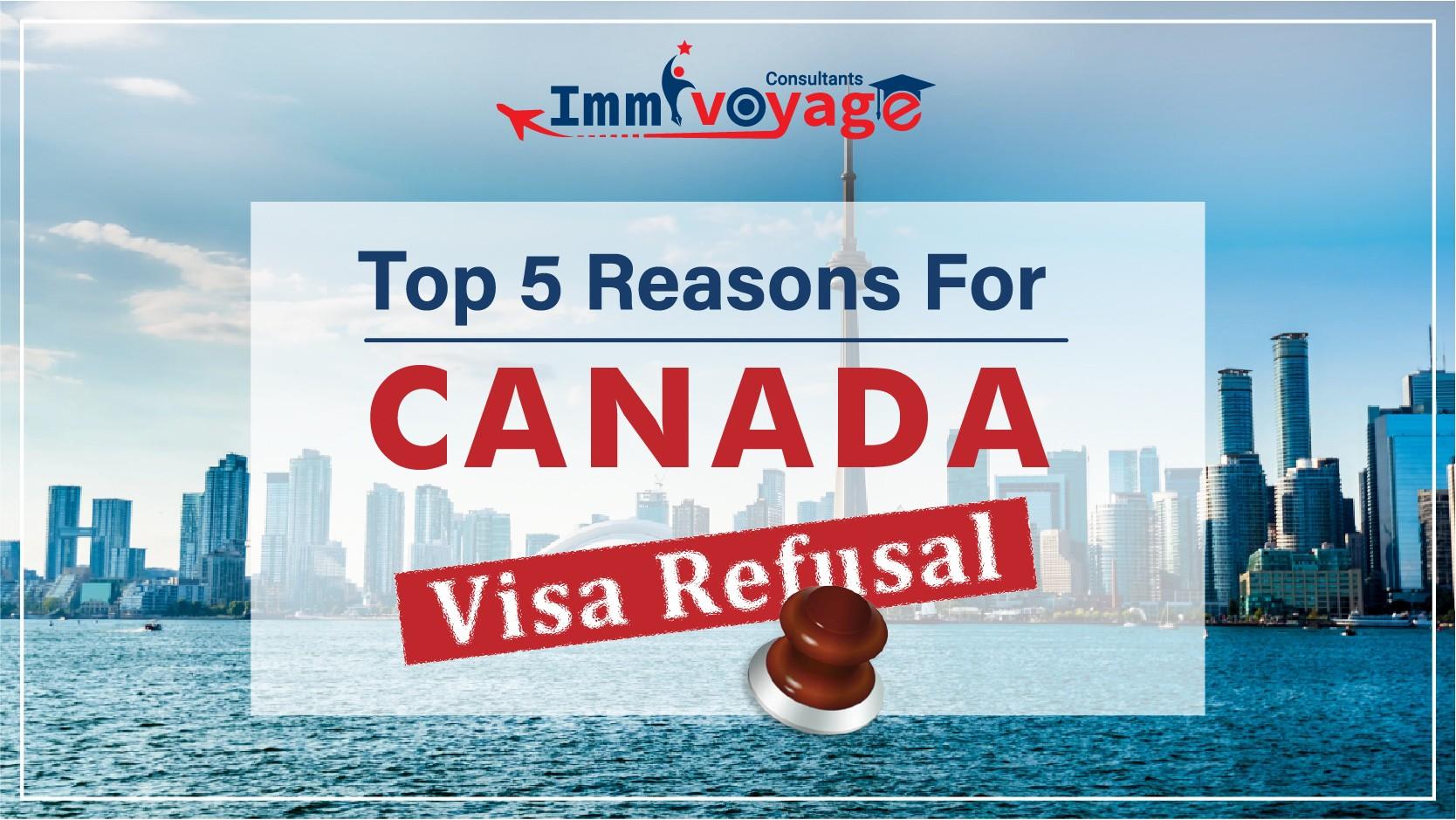 Reasons for Canada Visa Refusal